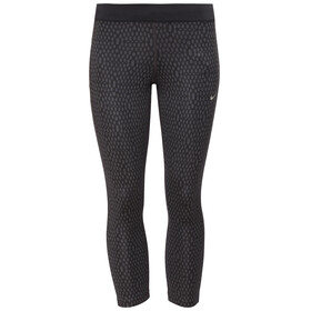 Nike Mirror Mesh Relay Crops Women black/reflective silver